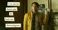 NEVER. Dirk Gently's Holistic Detective Agency