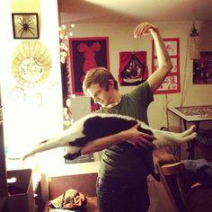 Worlds first cat ballerina...