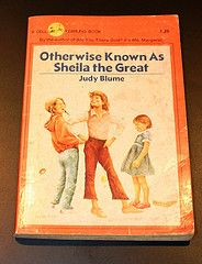 Otherwise Known As Sheila the Great (bluwmongoose) Tags: art apple childhood vintage reading book kid books retro read paperback nostalgia childrens judy tween camelot blume 1980s avon scholastic