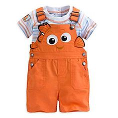 Disney Store Finding Nemo Character Dungaree Shorts Set For Baby Nwt Super Cute - May 04 2019 at Cute Baby Boy, Cute Baby Clothes, Cute Babies, Disney Baby Clothes Boy, Toddler Boys, Baby Kids, Baby Baby, Hipster Toddler, Baby Boy Outfits