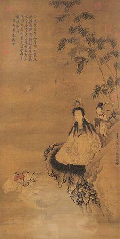 Guanyin acolytes - Avalokiteśvara - Wikipedia
