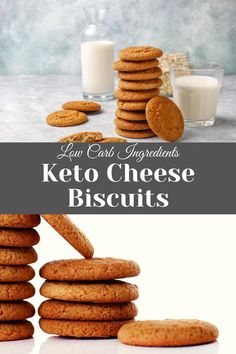 You will love these Keto Cheese Biscuits ideas for your Ketogenic Diet. These are the easiest low carb Buiscuits that will help you stay in ketosis and lose weight fast. #keto #ketosis #sugarfree #atkins #ketogenic