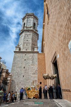Fachada principal Iglesia Arciprestal con su torre-campanario