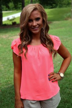 You Never Know Top: Neon Pink - Off the Racks Boutique