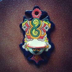 #Spanish #Ceramic #Mijas #Malaga #Spain #Holy #Water #Font #Ceramica #Española #Benditera #Handpainted #Handmade #Lionluis #Mijasart #Colorful #Andalusia