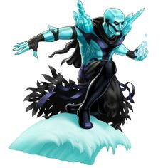 Iceman (Horseman of Death costume) Avengers Alliance Marvel Dc, Marvel Avengers Alliance, Marvel Avengers Assemble, New Avengers, Marvel Heroes, Iceman Marvel, Marvel Comic Character, Marvel Characters, Rpg