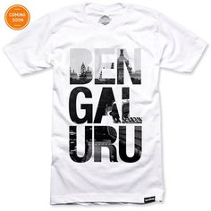 Bengaluru - Shop this T-Shirt at http://www.sixthbase.com/