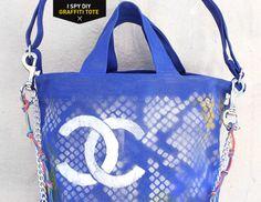 MY DIY | Chanel Inspired Graffiti Tote
