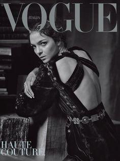 Vogue Italia March 2016 Haute Couture Cover