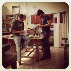 Nicola & Luca at work