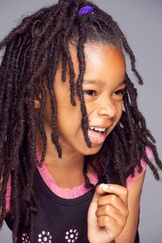 locs. Cute, but i would never put them in my child's hair. She has to make that choice for herself.