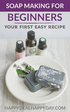 Easy Melt and Pour Soap Recipes: DIY Charcoal and Clay Goat's Milk Soap with Essential Oils. These easy DIY melt and pour soaps use charcoal and bentonite clay to help your skin care routine! Make 12 bars in just an hour! Perfect goat milk bar soap for your face! These include free printable soap labels and are great as homemade gifts! #goatsmilk #goatsmilksoap #diygoatsmilksoap #essentialoils #charcoal #clay #facialbarsoap #detoxsoap #homemadesoap #soapmaking #gifts #homemadegifts