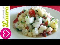 Ceviche de Coliflor Las Recetas de Laura Vegeterian Ceviche - YouTube