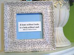 Wohler's World: Book Page Crafts