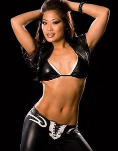 Former WWE Diva Lena Yada, now Lena Yada Draiman, because on September 25th, 2011, she married David Draiman, the lead singer of Disturbed.