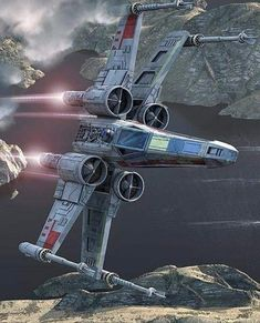 Star Wars Star Fighter Not Real Jet. - Star Wars Mandalorian - Ideas of Star Wars Mandalorian - Star Wars Star Fighter Not Real Jet. Star Wars Film, Star Wars Poster, Nave Star Wars, Star Wars Fan Art, Harison Ford, Escalier Art, Star Wars Outfit, Images Star Wars, Cuadros Star Wars