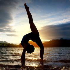 beautiful gymnastics