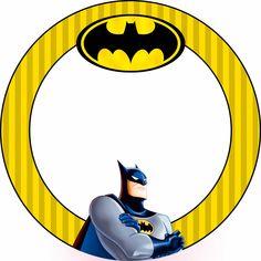 Montando minha festa: Etiquetas escolares - Batman