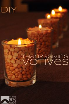 25 Thanksgiving Tablescapes to Dazzle the Crowd   Club Chica Circle - where crafty is contagious