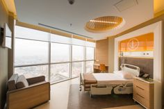 Memorial Ankara Hastanesi hasta odası