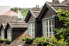 Building Ideas, Curb Appeal, Cabin, Homes, House Styles, Home Decor, Deko, Newlyweds, Homemade Home Decor