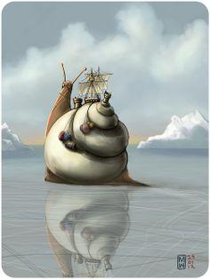 themagicfarawayttree: 2012 Matthew Watkins -The North West Passage