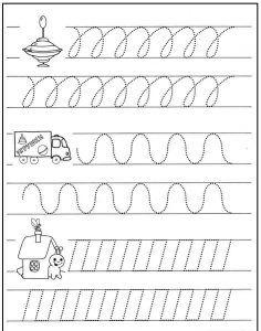 Předem psaní aktivity (2) Preschool Writing, Preschool Learning Activities, Preschool Lessons, Writing Activities, Kids Learning, Writing Practice Worksheets, Kindergarten Math Worksheets, Pre Writing, Writing Skills