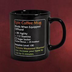 Epic Coffee Mug - MMO Item Fan Tasse