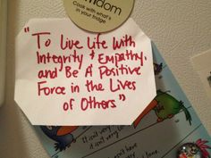personal mission statement examples for life - Google Search ...