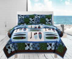 Surfs Coverlet Set