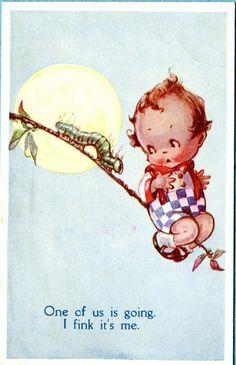Flora White postcard