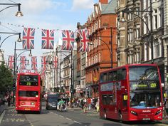 oxford england | UK - London - Oxford Street - Union Jack Decorations | Flickr - Photo ...