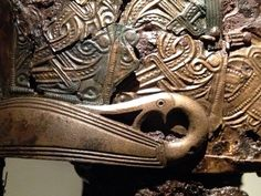 Valsgärde 8 ocular detail on helmet