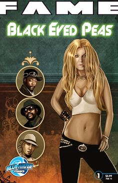 FAME: Black Eyed Peas COMIC BOOK. The Black Eyed Peas have transcended their vigilant hip-hop roots to become a global phenomenon the likes of which the music world has rarely seen. After their tremendous Grammy win, these young hip-hop-hopefuls learn just what it takes to become the best while retracing the defining events in each of the band member's funkadelic lives. Now in print and Itunes, Nook & Kindle.