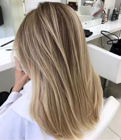 Medium Length Hair Blonde