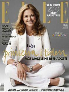 Elle Sweden January 2010 - Princess Madeleine