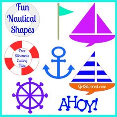 Here's a set of fun shapes with a Nautical Theme. I thought these would be good for the...