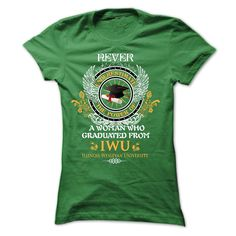 A woman who graduated from Illinois Wesleyan University T Shirt, Hoodie, Sweatshirt