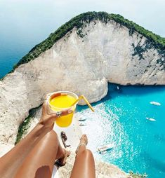 b891f879a 25 Most Beautiful Crystal Clear Water Beaches in the World Navagio beach.The  best spot to sit and have a fresh OJ