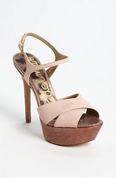 9d0e58096d89 Sam Edelman  Mason  Sandal available at  Nordstrom  120 Sock Shoes