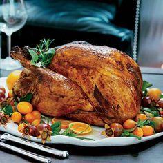 Citrus Themed Thanksgiving Turkey Decorations