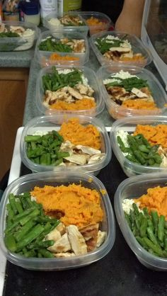 I miss the days my mom would pack my lunch. Fit & Healthy Mommy: Batch Meal Prep - Clean Eating-- read this site Healthy Meal Prep, Healthy Snacks, Healthy Recipes, Easy Recipes, Eating Healthy, Clean Eating Recipes, Cooking Recipes, Eating Clean, Batch Cooking