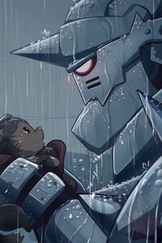 I love the rain. by Mauw-than-one on DeviantArt