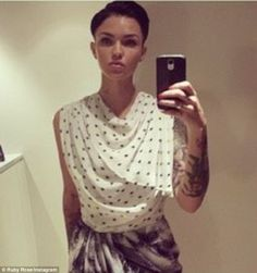 Another of Ruby Rose looking gorgeous.