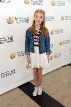 Actress G. Hannelius attends the Elizabeth Glaser Pediatric AIDS Foundations 24th Annual A Time For Heroes at Century Park on June 2, 2013 in Los Angeles, California.