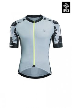 35bfce2c1 Buy 2017 Short Sleeve Cycling Tops Grey for Men Online