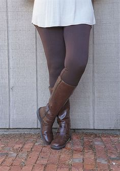 Add some COMFORT and COLOR to your fall wardrobe with these adorable leggings! The stretch fit is flattering on every figure. The slimming affect of these will make you want one in every color!