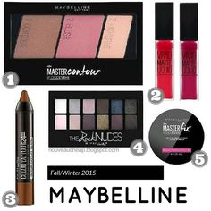 Fall/Winter 2015 Maybelline Sneak Peeks (New Color Tattoo Eyeshadow Pencils, Master Fix Loose Setting Powder and More)