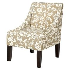 Swoop Upholstered Accent Chair - New Botany Taupe.Opens in a new window
