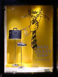 best dad ever retail graphic. #retail #merchandising #graphic #windowdisplay
